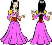 Principessa Costume Fotografia Stock Libera da Diritti