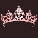 Principessa Crown Fotografie Stock Libere da Diritti