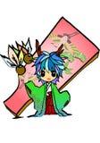 Principessa del drago Fotografia Stock Libera da Diritti