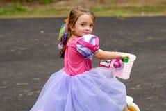 Principessa del triciclo Fotografia Stock Libera da Diritti