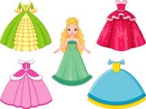 Principessa della bambola Fotografia Stock