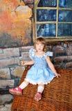 Principessa della ragazza Fotografia Stock