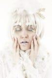 Principessa di inverno fotografia stock