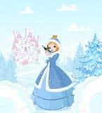 Principessa di inverno royalty illustrazione gratis
