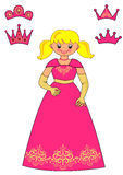 Principessa Game per i bambini Immagine Stock