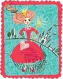 Principessa leggiadramente. royalty illustrazione gratis
