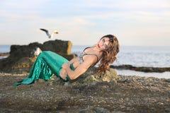 Principessa Mermaid Fotografia Stock Libera da Diritti