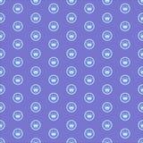 Principessa Seamless Pattern Background Immagine Stock Libera da Diritti