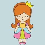 Principessa sveglia Fotografia Stock