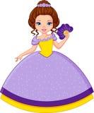 Principessa Violet Fotografia Stock