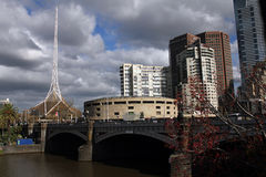 Principi Bridge Melbourne Fotografia Stock