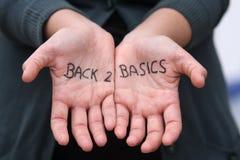 Principi fondamentali della parte posteriore 2 Immagini Stock