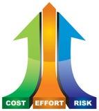 Principi fondamentali riusciti di affari Immagine Stock Libera da Diritti