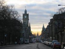Principi Street, Edinburgh Immagine Stock