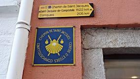 Principio de la manera de San Jaime Fotografía de archivo libre de regalías