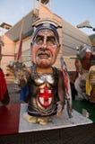 Principio de s del carnaval de Viareggio ' imagen de archivo