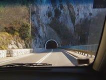 Principio del túnel Imagenes de archivo
