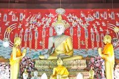 Principle buddha statue of Wat Yai Chai Mongkol in Ayutthaya Royalty Free Stock Image