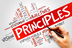 Principles Royalty Free Stock Photo