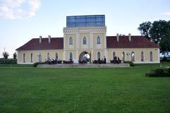 Principovac庄园餐馆在伊洛克,克罗地亚 图库摄影