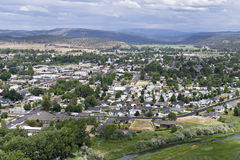Prineville, Oregon from a knoll to the west