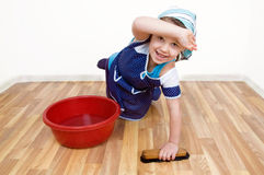 Pring Cleaning Royalty Free Stock Photos