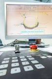 Pringing新闻颜色管理控制单元。 免版税图库摄影