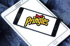 Pringles ébrèche le logo Photographie stock