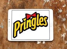 Pringles bricht Logo ab Lizenzfreie Stockbilder