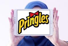 Pringles bricht Logo ab Stockbild