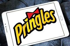 Pringles bricht Logo ab Stockbilder