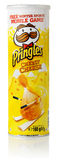 Pringles Cheesy Cheese potato chips Stock Image