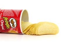 Pringles Originele chips royalty-vrije stock foto