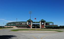 Pringles Park Sports complex home of the Jackson Generals, Jackson, Tennessee. Royalty Free Stock Photos