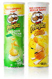 Pringles potato chips Royalty Free Stock Photos