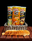Pringles snack chips Stock Photos