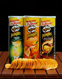 Pringles snack chips Royalty Free Stock Photos