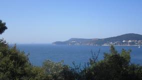 Prinsö och Marmara hav royaltyfri foto