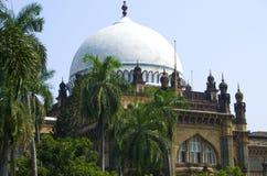 Prins av det Wales museet i staden av Mumbai Arkivbilder
