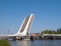 Prins Berhardbrug in Zaandam. Royalty Free Stock Image
