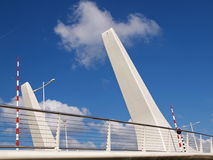 Prins Berhardbrug in Zaandam. Stock Photo