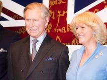 Prins Charles en Camilla Parker Bowles stock fotografie