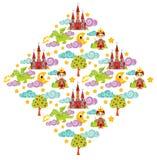 Prins drakemodellillustration Royaltyfri Foto