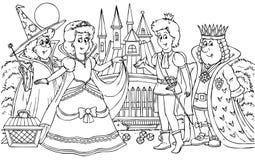 Prins en Prinses Royalty-vrije Stock Afbeelding