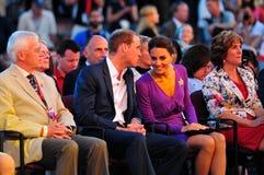 Prins en prinses Stock Afbeeldingen