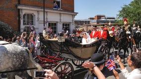 Prins Harry, hertig av Sussex och Meghan, hertiginna av Sussex tjänstledigheter fotografering för bildbyråer
