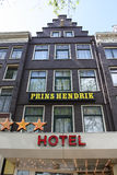Prins Hendrik Hotel,Amsterdam Royalty Free Stock Image