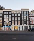 Prins Hendrikkade gata i Amsterdam Royaltyfria Foton