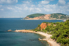 Prins Islands nära Istanbul i Turkiet Royaltyfri Foto