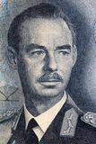 Prins Jean van het portret van Luxemburg stock foto's